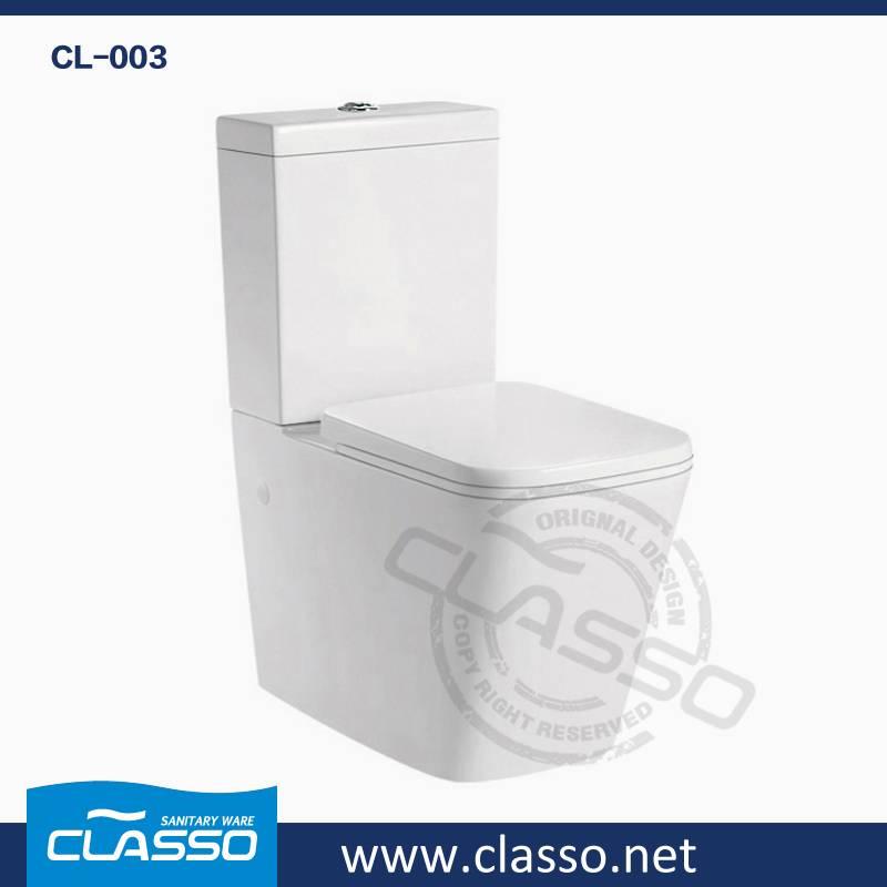 New design washdown toilet 4-inch one piece closet CL-003