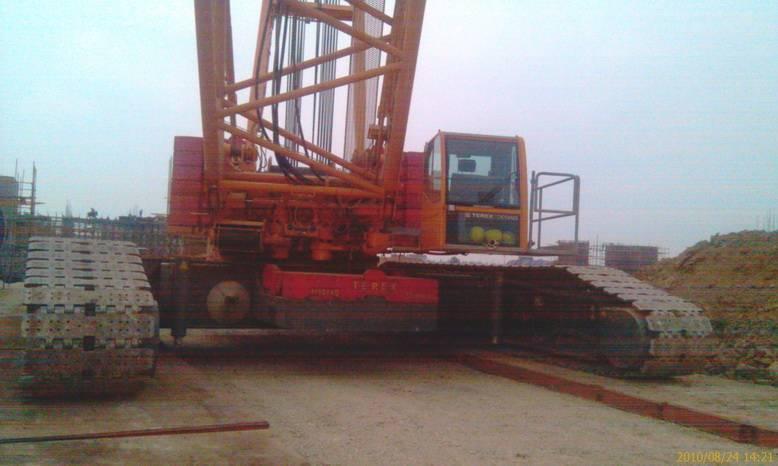 Supply TEREX 500ton Crawler crane TEREX CC2500-1 crane TEL:+8613818259435