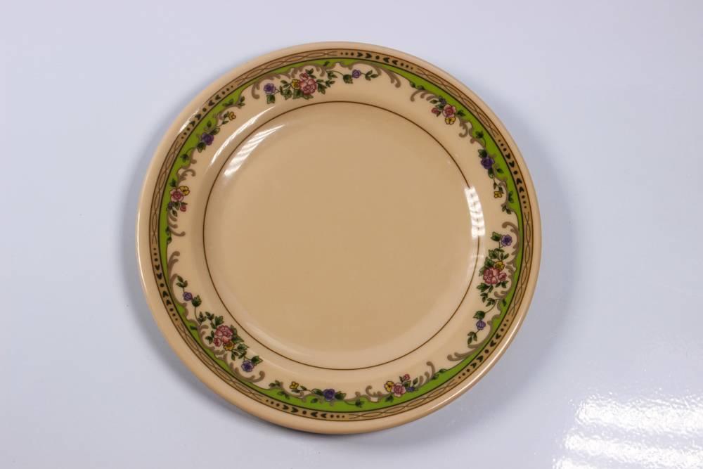 6.5'' flat melamine plate