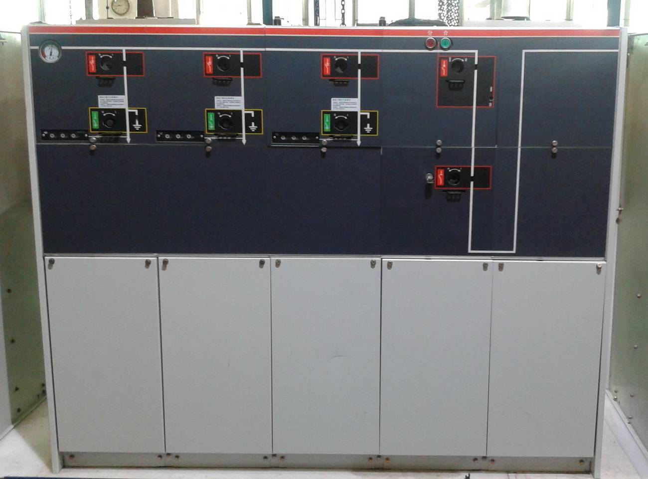 12/24kV SF6 Gas-insulated Metal-enclosed Switchgear