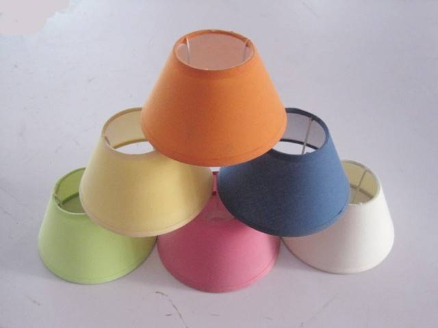 fashion disign fabric lamp shades popular in Europe