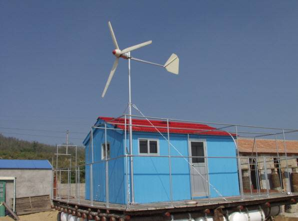 wind turbine generator 500W (ce, iso approved)