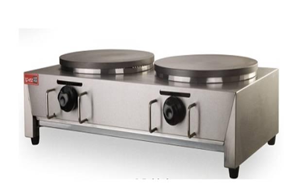 Gas Crepe Pancake Machine