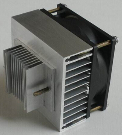 TEC thermoelectric cooler with heat sink ,Thermoelectric assembly