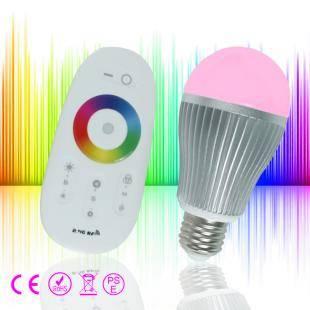 High Quality 6W RGB Wifi led bulb