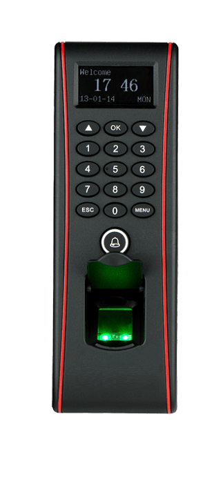 sell F17 fingerprint access control system with waterproof
