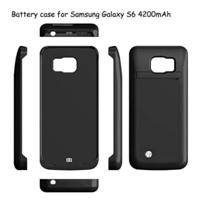 4200mah backup battery charger power case Samsung Galaxy S6 and S6 Edge