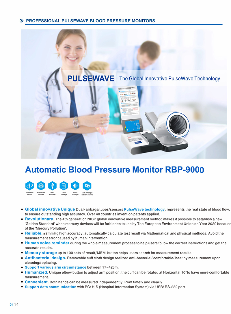 2020 Accurate Arm BPM talking automatic arm ABS blood pressure monitor with ISO13485