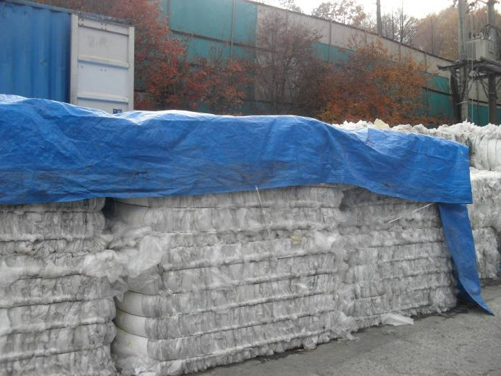 LDPE, LLDPE, EVA roll, PP woven, PET egg box bales, PVB, PVC, Etc..
