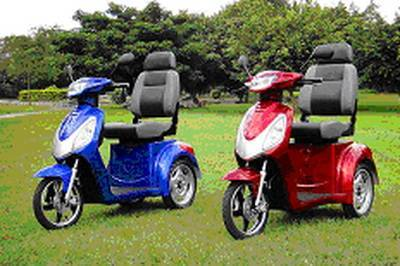Electric tricycle for aged peoples