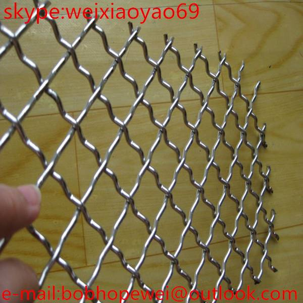 High Quality Crimped Wire Mesh / Square Wire Mesh / Woven Wire Mesh