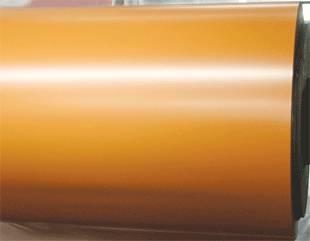 flash golden aluminium roll