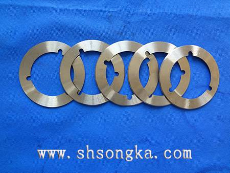 Circular tape cutting blade, paper tube slitting circular knife, cutting sugar flat circular knife