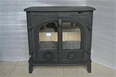 Cast Iron Wood Stove With Double Doors