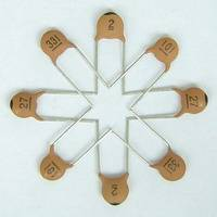 temperature compensating ceramic capacitor CC1