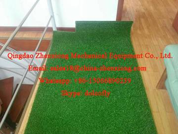 Plastic lawn making machinery