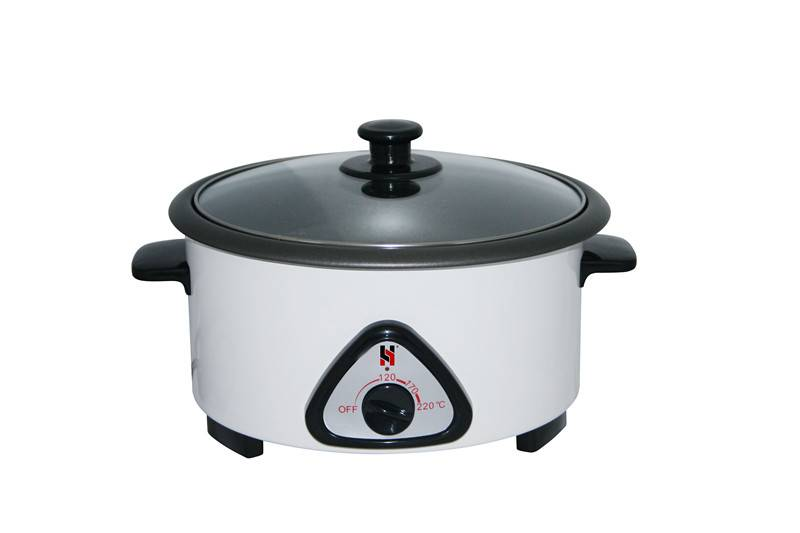slow cooker, Stainless steel outbody, no steamer