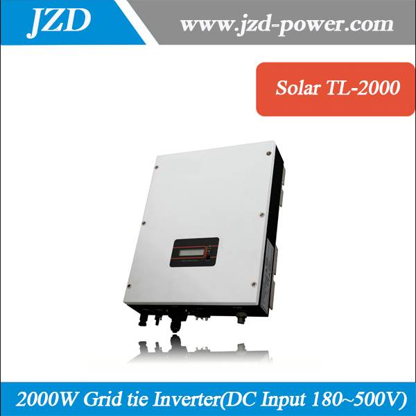 Solar Grid Connected Inverter Pure Sine Wave 2000W/2KW DC180~500V to AC 220V