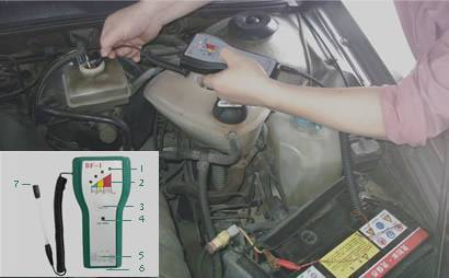AntifreezeBattery Fluids Refracyometer can bus launch x431 launch x431 code reader scanner can bus