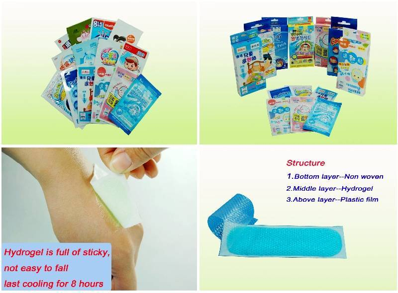 cooling gel patch