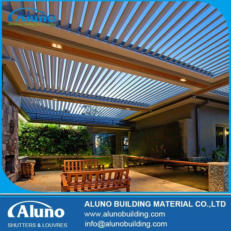 Aluminium Motorized Opening Roof