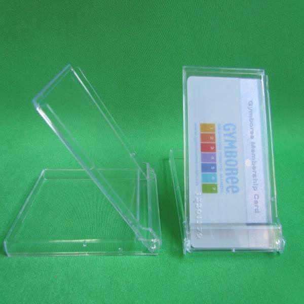 plastic ps business name card case/holder