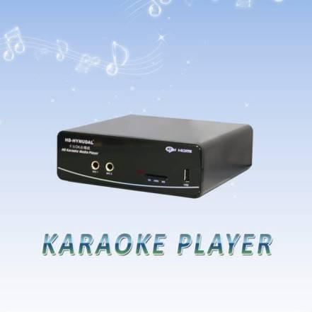 HDD Home Karaoke player