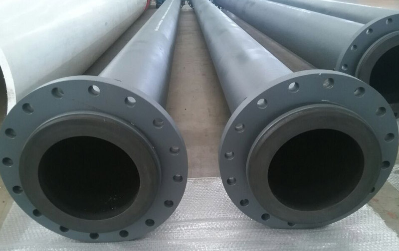 UHMWPE Lined Steel Pipe