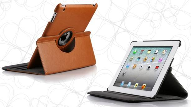 For iPad 2/3/4 rotated case