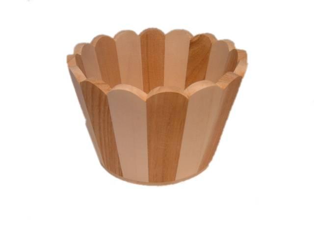 Wooden flowerpot or planters