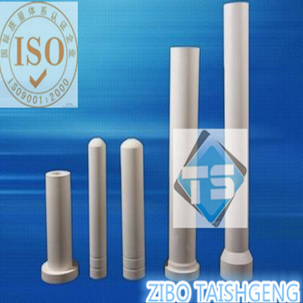 Customized Aluminum Titanate Riser Tube for Aluminum Foundry