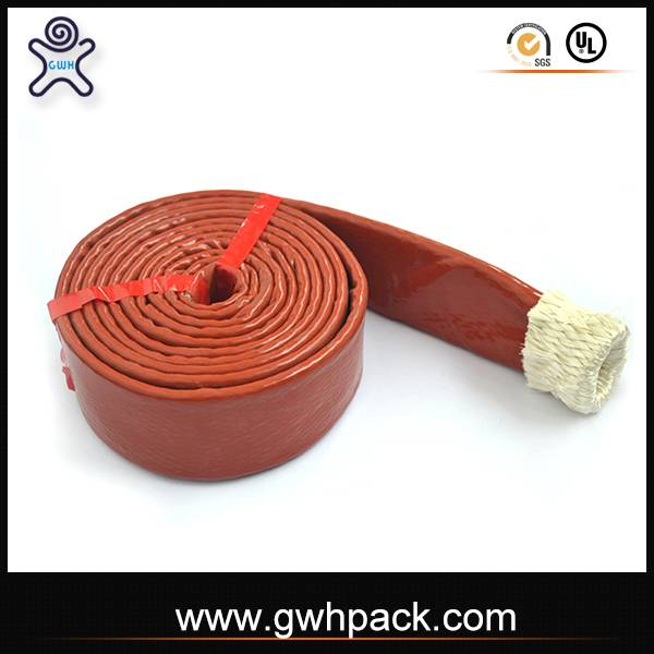 Great Pack fire silicone high heat hose for protect the high temp electrical wire