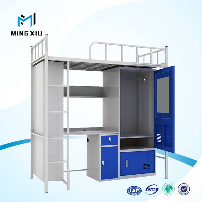 China mingxiu low price bunk beds / cheap dorm bunk bed for sale