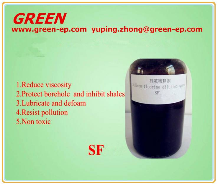 Petroleum chemical thinner Silico-flurine dilution agents SF