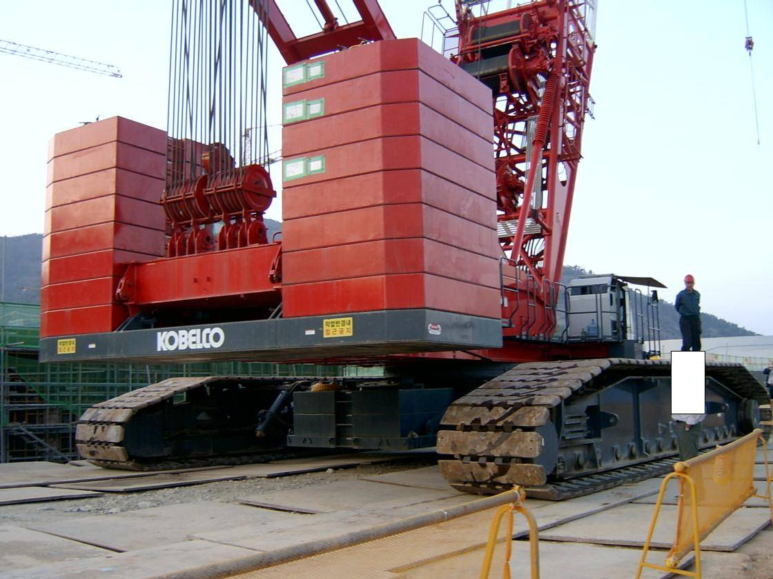 SL6000 / sumitomo 550 ton crawler crane