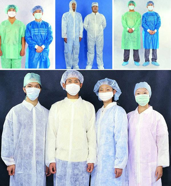 Supply Medical Disposable Protective Clothing