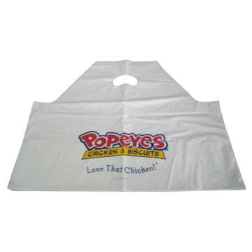 HDPE white Plastic shopping Bag