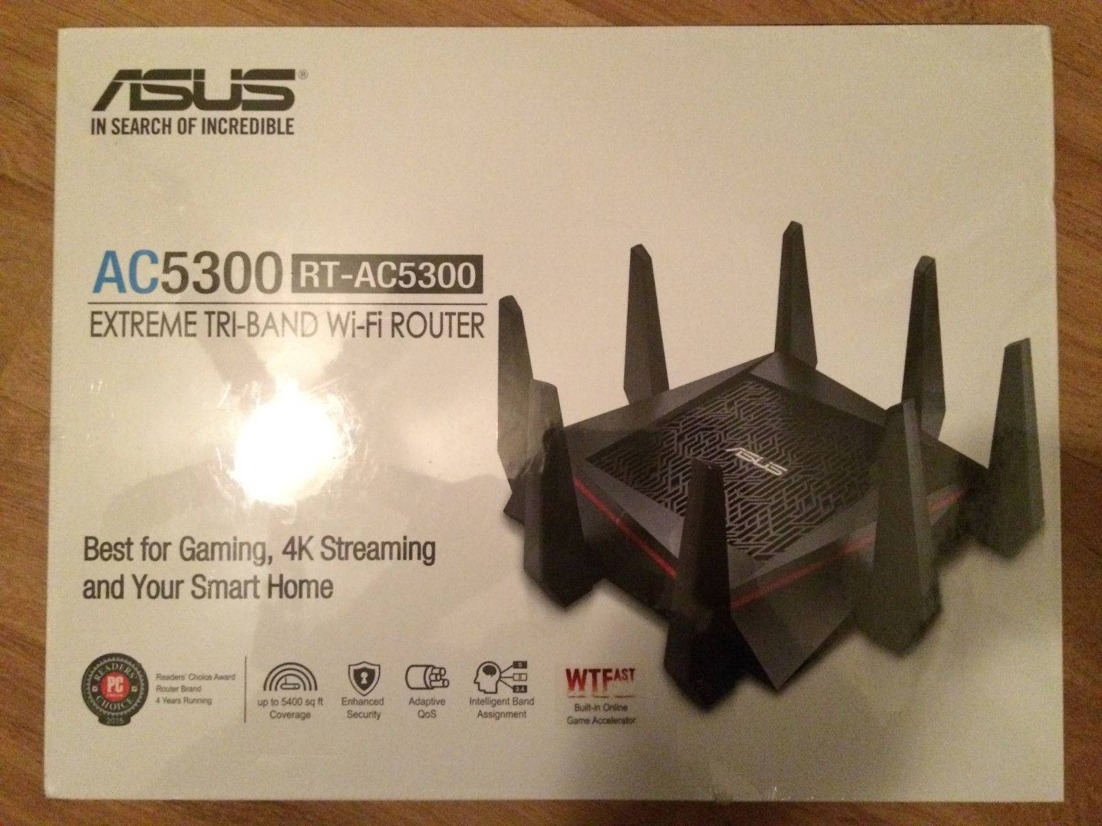 ASUS RT-AC5300 Wireless AC5300 Router