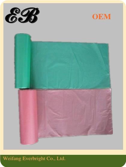 Colorful Customer Plastic Garbage Bag Trash Bag Poly Waste Bag