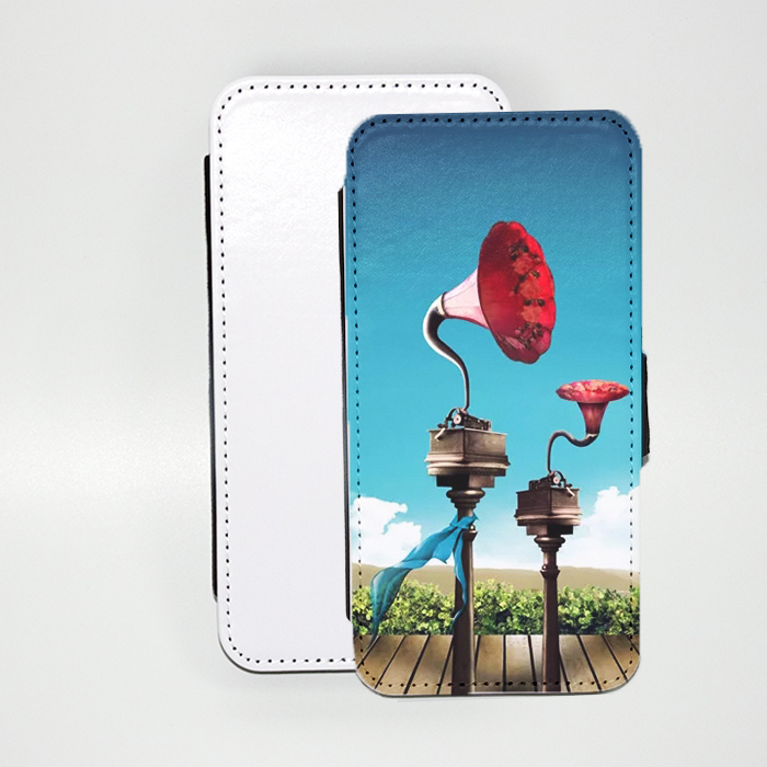 Brand Blank Sublimation Cover Wallet PU Leather Case For Galaxy J7 2017 J730 Flip Cover