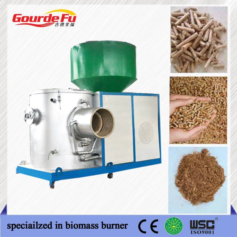 green energy biomass sawdust burner for 6000000kcal steam boiler