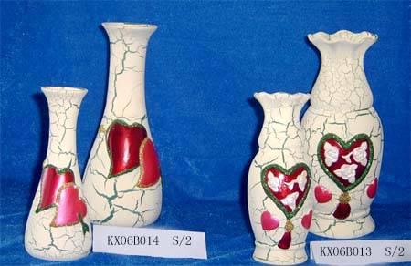 Ceramic Valentines vase