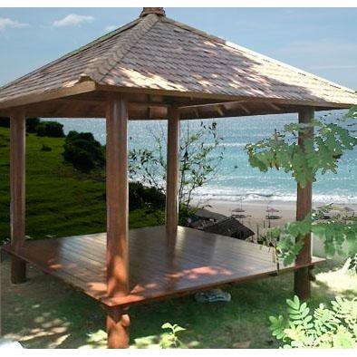 Bankirai Wood Gazebo