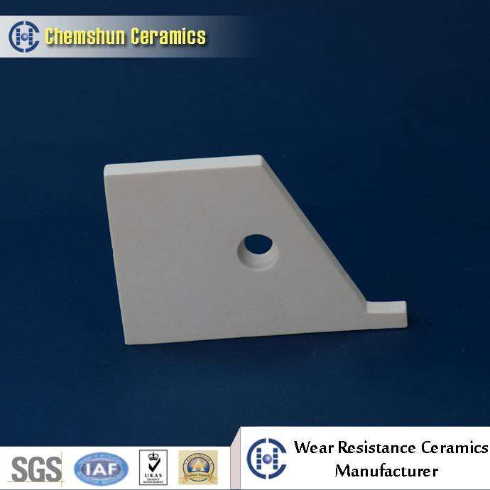 Alumina Ceramic Tile with Hole for Pre-Engineering