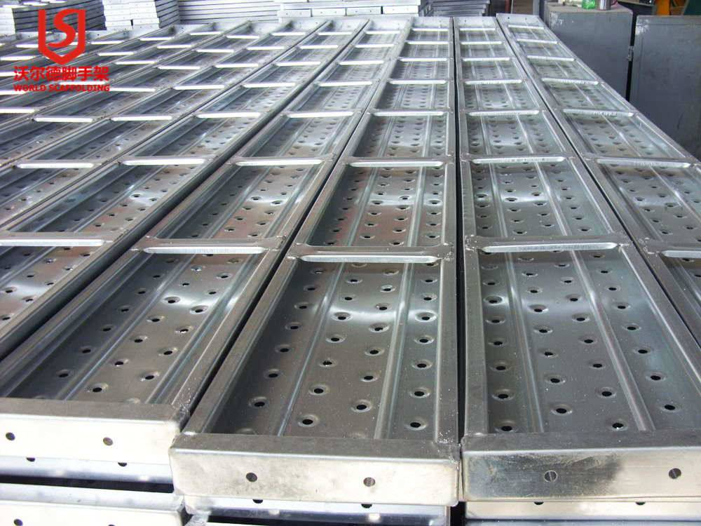 Sell High quality walk through steel plank ,scaffolding metal planks from china supplier