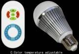 Dimming Color temp led bulb touching control
