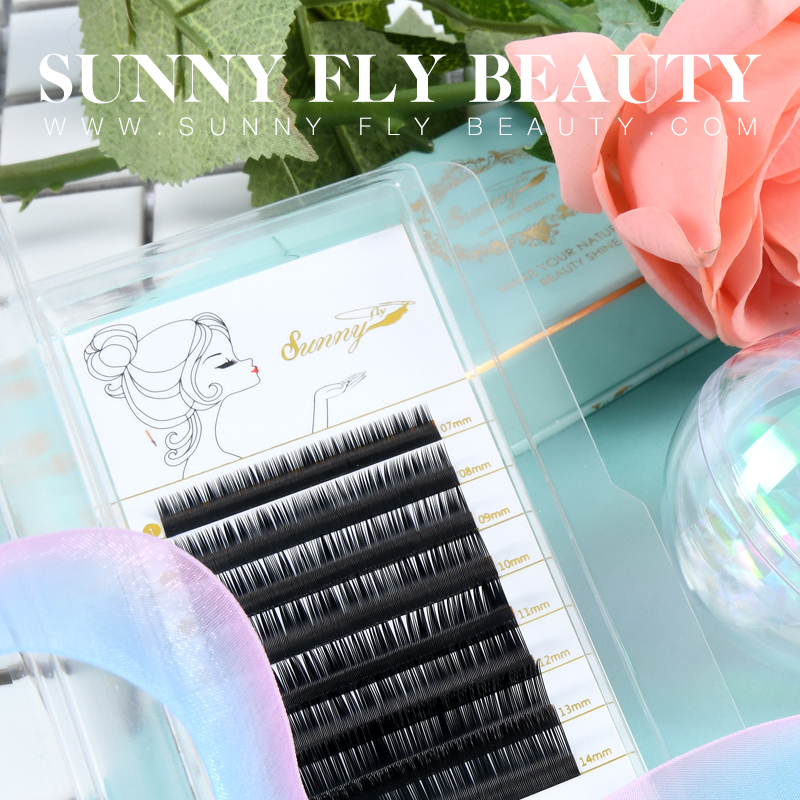 Why is the eyelash extensions easy to drop?