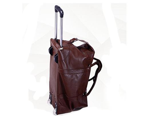 2018 New Design Hot Selling Customer DIY Genuine Trolley Bags