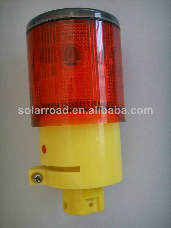 Solar LED Beacon Warning Light RS-712