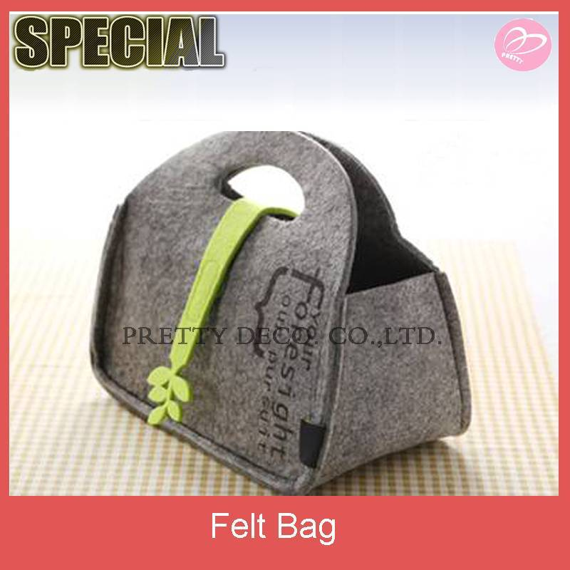 New style wholesale felt bag